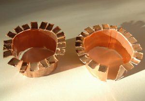 cercle anti-limaces en cuivre