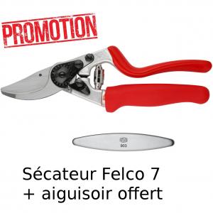 Sécateur Felco 7 + aiguisoir offert