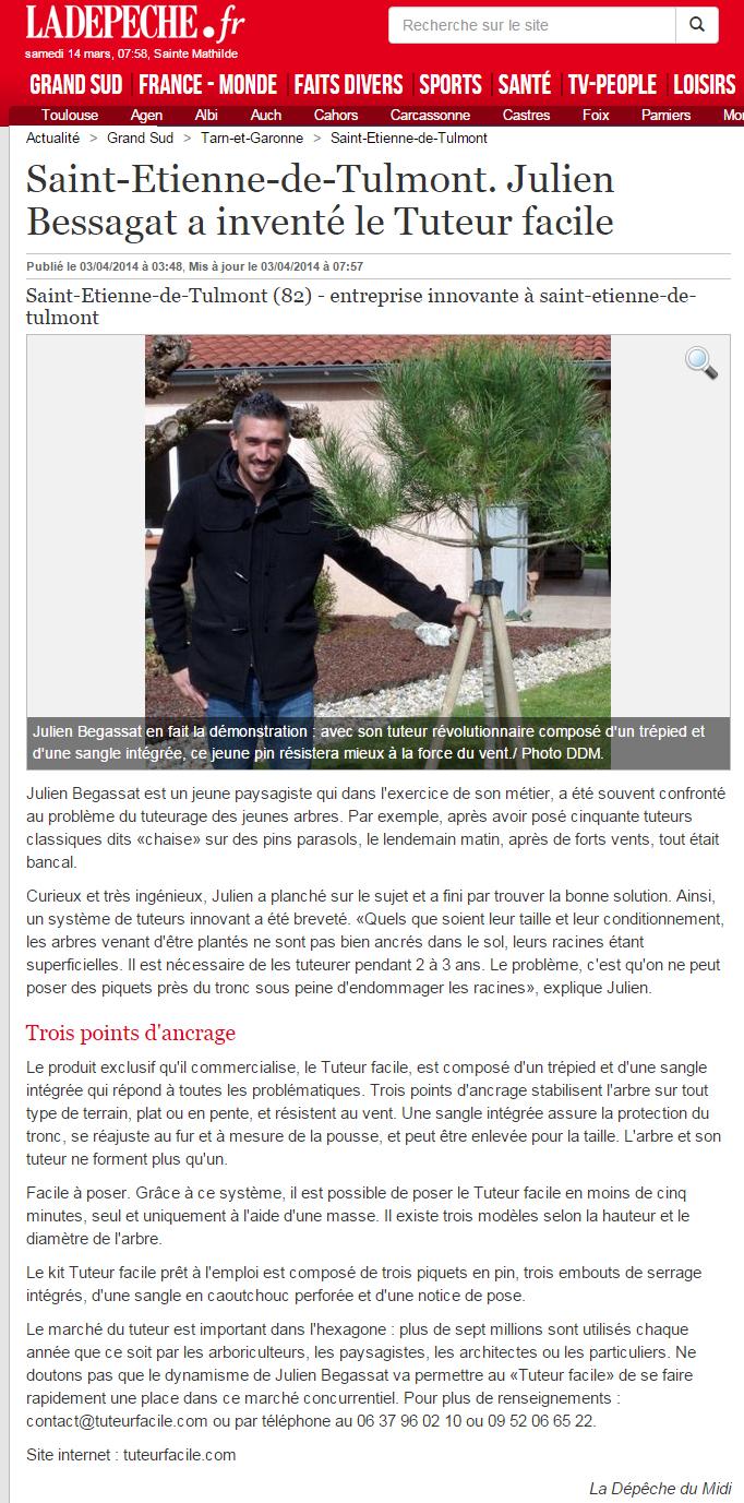 un tuteur d 39 arbre facile pour maintien solide du tronc droit jardinerie plaisible. Black Bedroom Furniture Sets. Home Design Ideas