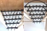 Aéro-bêche de type grelinette disponible en version 3 à 7 dents avec ou sans arceau