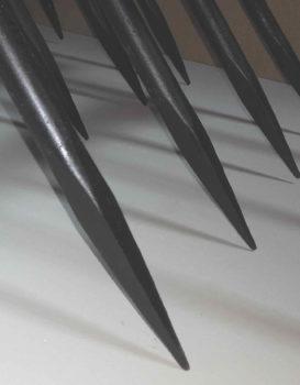 Dent de la grelinette aéro-bêche forgées sur 8,5 cm