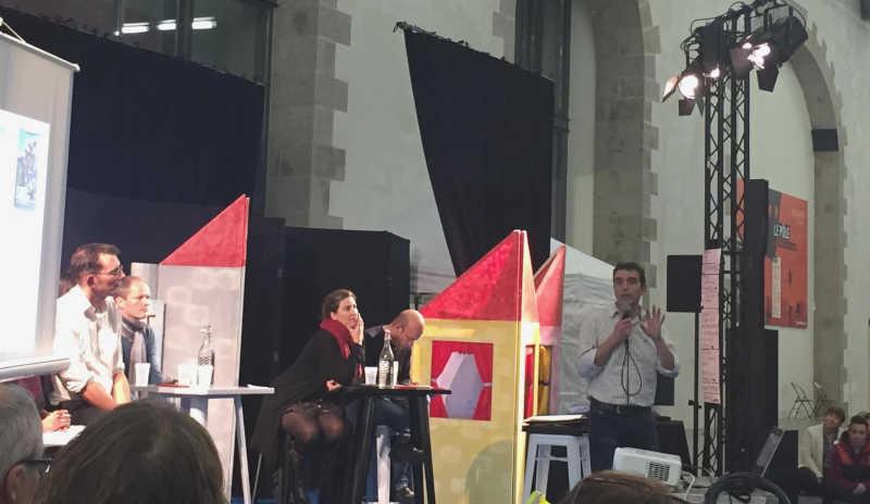Rob Hopkins à Brest le 1er décembre 2018